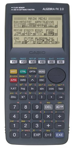 5: Casio Algebra FX 2.0 Graphing Calculator