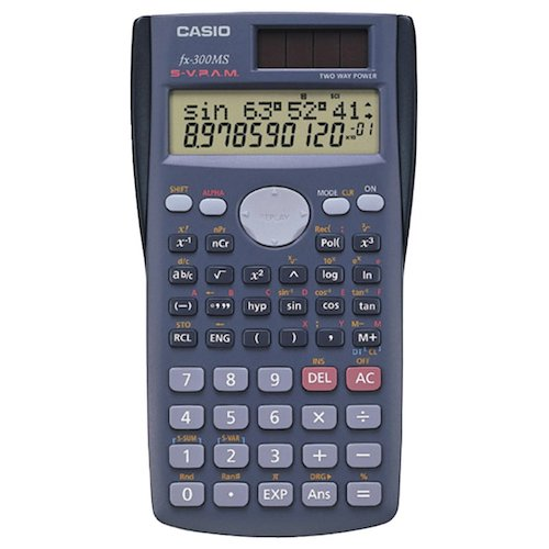 Best Algebra Calculators: Casio FX-300MS Scientific Calculator, Black
