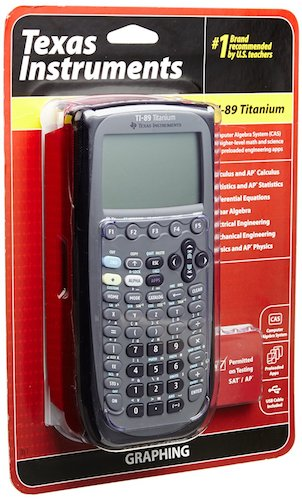 2: Texas Instruments TI-89 Titanium Graphing Calculator