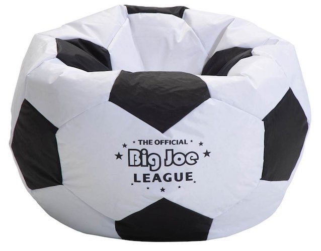 Best Bean Bag Chairs: 8. Big Joe Soccer Bean Bag With Smart Max Fabric