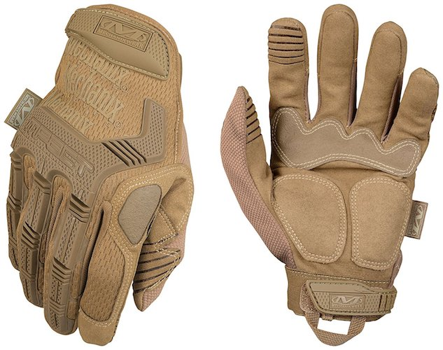 Best Tactical Gloves: 3.Mechanix Wear Tactical M-Pact Coyote