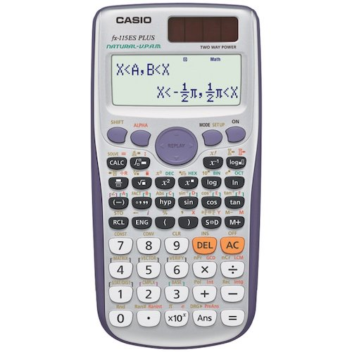 8: Casio fx-115ES PLUS Engineering/Scientific Calculator