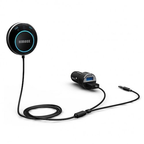 8. iClever Himbox HB01 Bluetooth 4.0 Hands- Free Car Kit