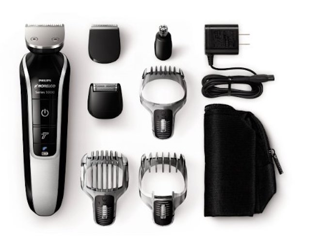 10: Philips QG3364/49 Norelco Multigroom 5100 Grooming Kit (7 Attachments)