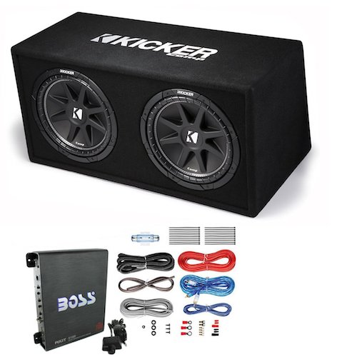 Best Car Subwoofer Amplifier: 9. KICKER DC12
