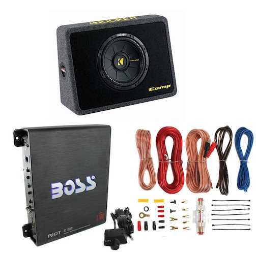 Best Car Subwoofer Amplifier: 5. New Kicker 40TCWS102 10 600W Subwoofer
