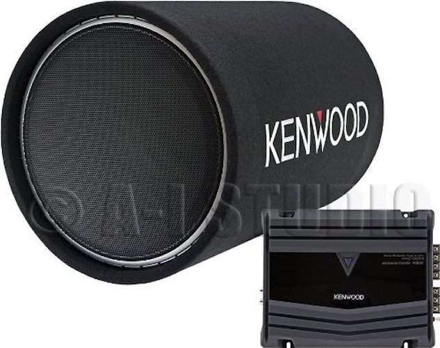 Best Car Subwoofer Amplifier: 10. Kenwood P-W130TB 12-Inch Tube Subwoofer