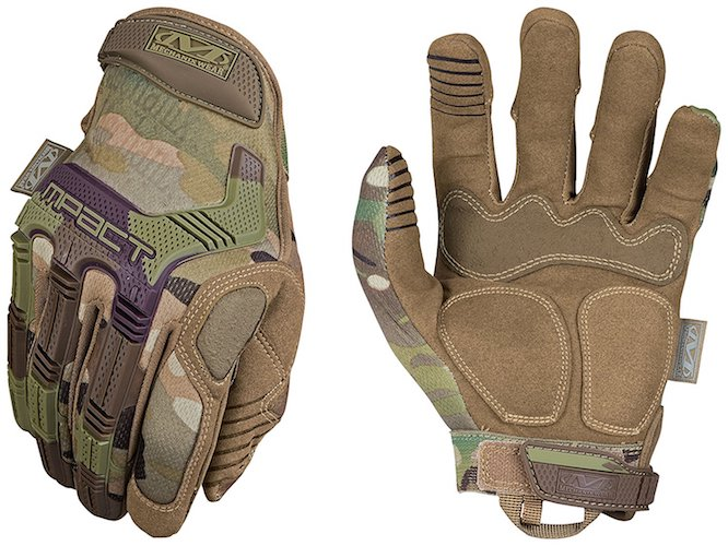 Best Tactical Gloves: 10.Mechanix Wear Tactical Multicam M-Pact