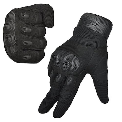 Best Tactical Gloves: 5. Freetoo Men's Outdoor Gloves Full Finger Cycling Motorcycle Gloves