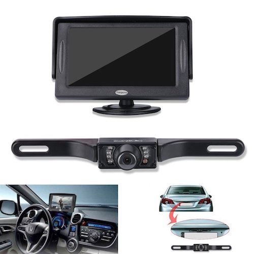 Top 10 Best Car Backup Camera in 2017 Reviews
