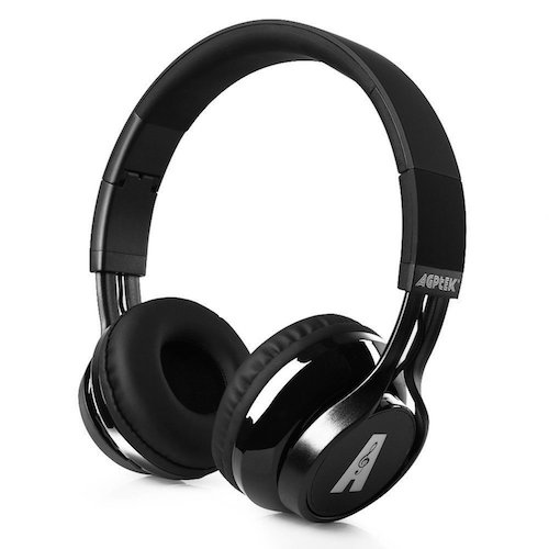 5. AGPtEK Universal Wireless Bluetooth Foldable Headphone