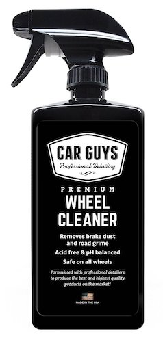Best Tire Shine Spray: 10. Car Guys Premium Wheel Cleaner