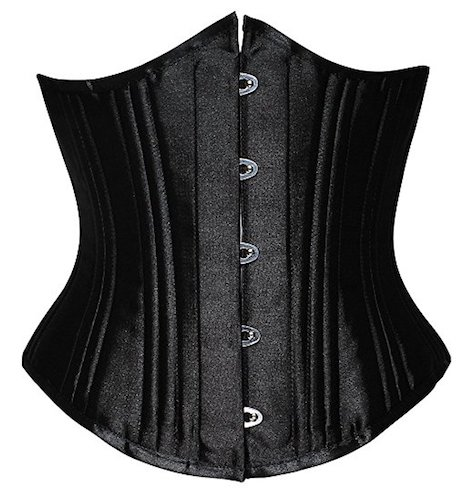10. Everbellus Women's 26 Steel Boned Heavy Duty Waist Trainer Corset For Weight Loss