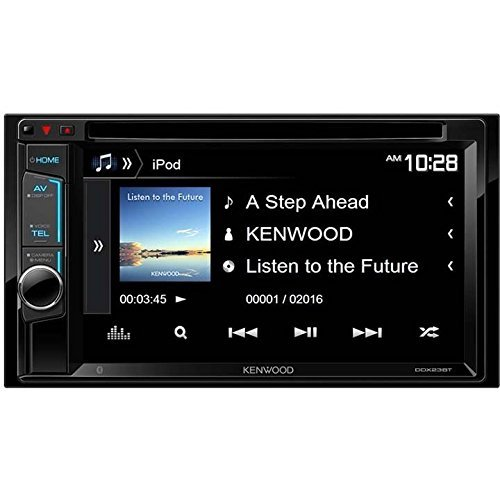 "7. Kenwood DDX23BT 6.2"" Multimedia Receiver"