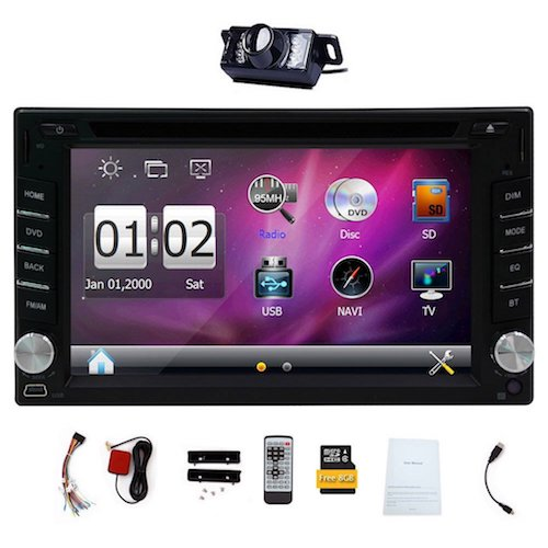 Top 10 Best Touch Screen Car Stereo Radios in 2017 Reviews