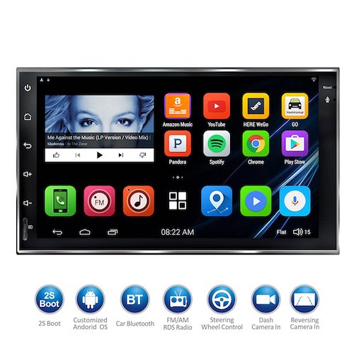 "5. ATOTO ""HD Touchscreen Android Car Navigation Stereo"
