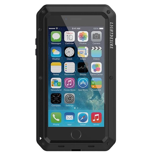 9. LIGHTDESIRE Water Resistant Shockproof Aluminum Military Bumper shell Case