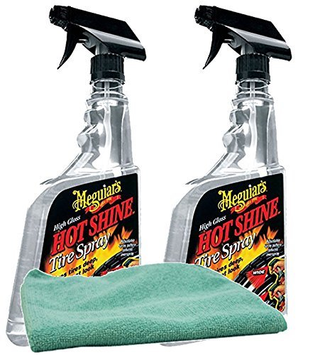 Best Tire Shine Spray:8. Meguiar's G15415 Endurance Tire Dressing – Aerosol