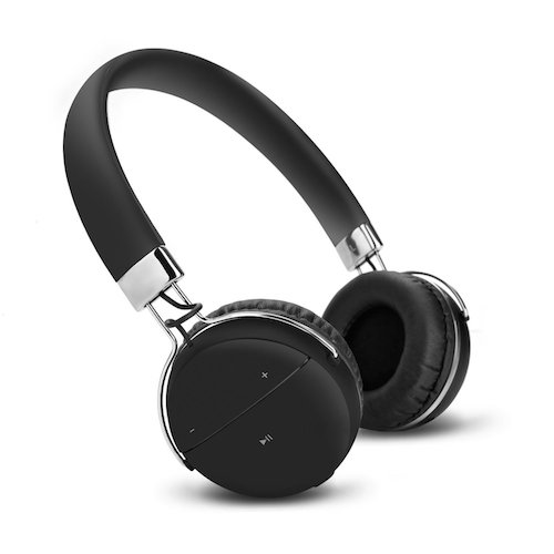 6. Wireless Bluetooth Headphones, Jelly Comb Noise Canceling Stereo Over-the-Ear V4.1 Bluetooth Headset Earphones