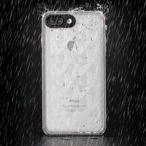 5. Redpepper Transparent Snowproof case