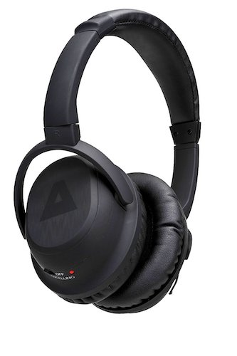 2. TRAKK Over-The-Ear Noise Cancelling Black Sports Stereo Wireless Bluetooth Headphones Beats