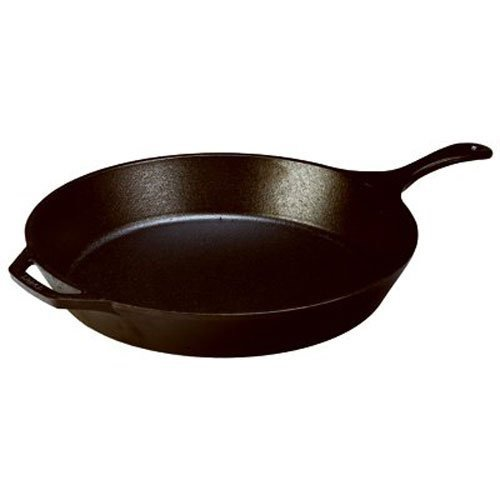 Best Pre-Seasoned Cast-Iron Skillets: 1. Lodge L8SK3 Cast Iron Skillet Pre-seasoned
