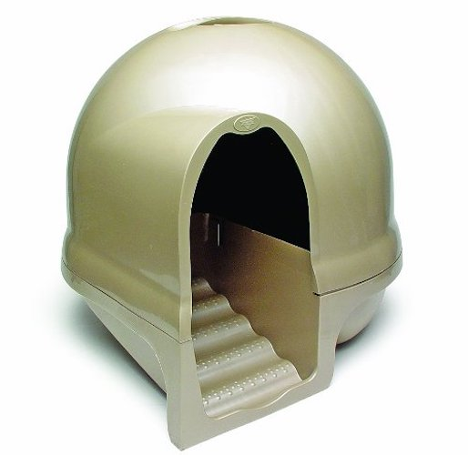 4. Petmate Clean Step Litter Dome