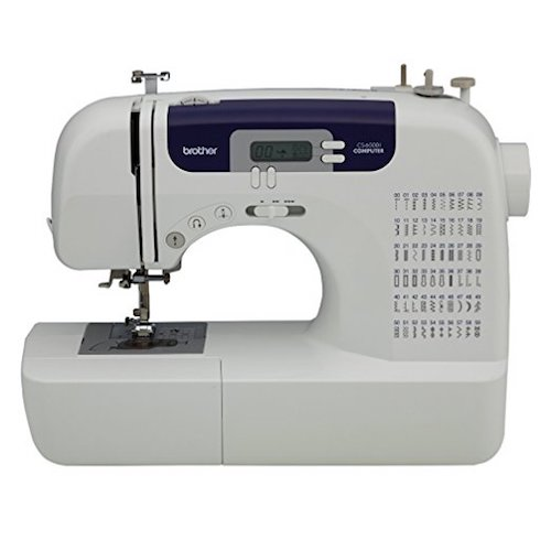 Best Sewing & Embroidery Machines: 1. Brother CS6000i 60 Stitch Computerized Sewing Machine With Wide Table