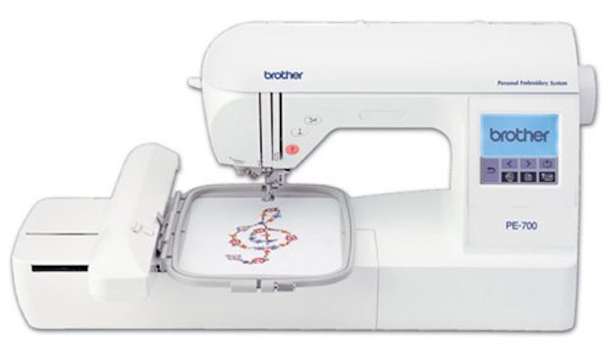 10. Brother EP700II Embroidery Machine With USB Port
