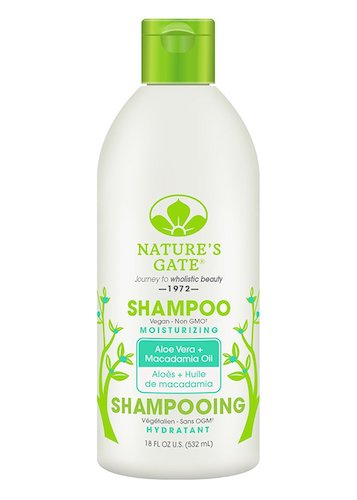 9. Nature's Gate Aloe Vera Moisturizing Shampoo for Normal to Dry Hair, 18 Ounce (Pack of 4)