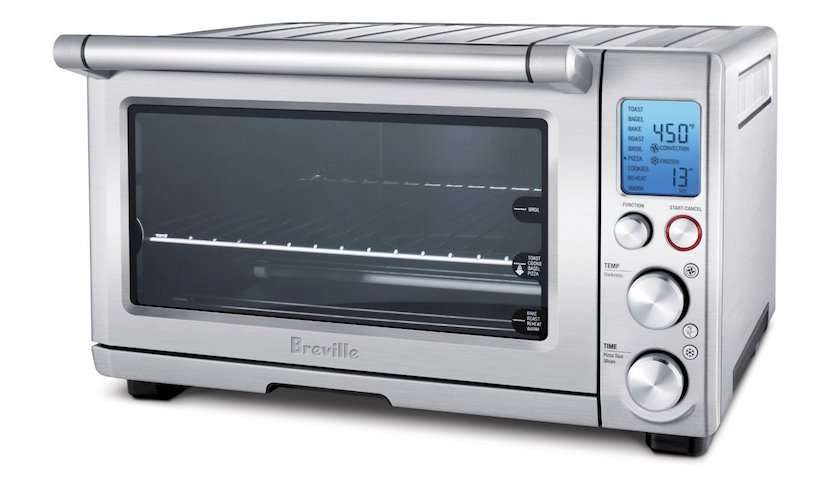 3. Breville BOV800CRNXL Smart Oven 1800-Watt Convection Toaster Oven with Element IQ,Silver