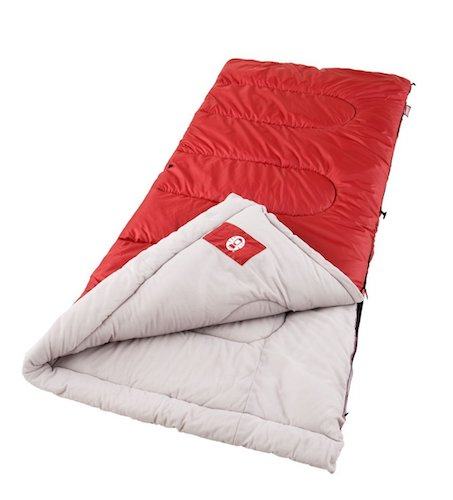 1. Coleman Palmetto Cool Weather Sleeping Bag