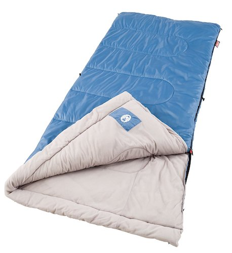 4. Coleman Sunridge 40-60 Degree Sleeping Bag