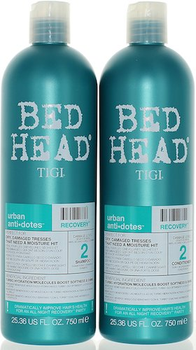 2. TIGI Bed Head Urban Anti-dote Recovery Shampoo & Conditioner Duo Damage Level 2 (25.36oz)