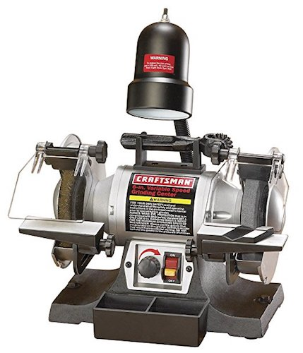 6. Craftsman 9-21154 Variable Speed 6-Inch Grinding Center