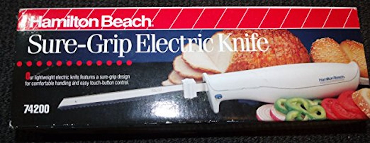 9. Hamilton Beach Sure-Grip Electric Knife Model 74200