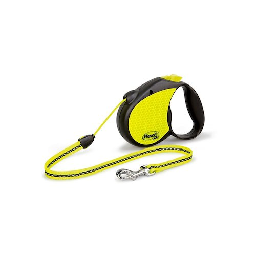 Best Retractable Dog Leashes: 3. Flexi Neon leash