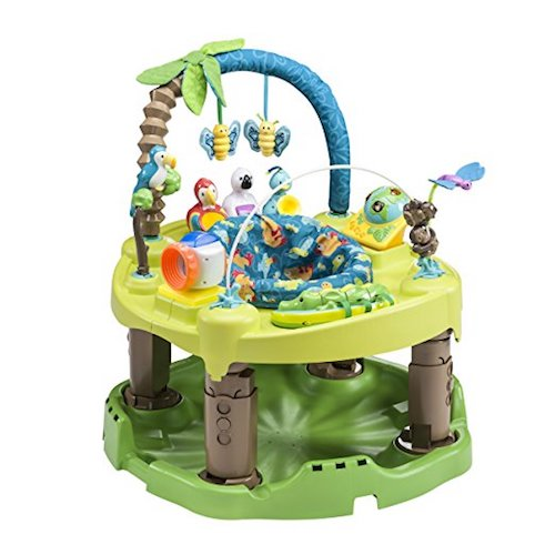 9. Evenflow Exersaucer Triple Fun Active Learning Centre, Life In The Amazon