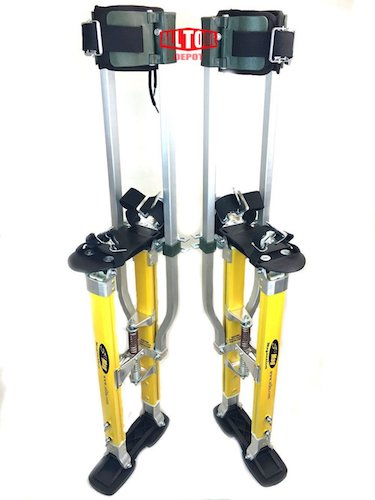 9. SurPro S2.1 Dual Legs Support Magnesium Drywall Stilts 24-40 in. (SUR-S2-2440MP)
