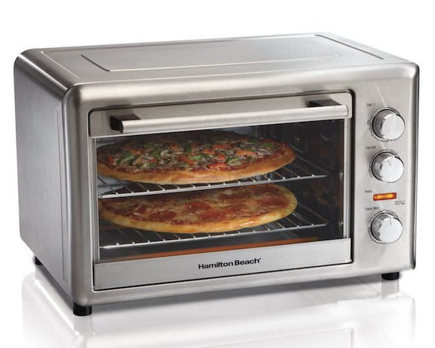 8. Hamilton Beach 31103A Countertop Oven with Convection and Rotisserie