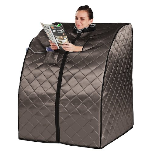 Best Portable Saunas: 1. Radiant Saunas BSA6310 Rejuvenator Portable Sauna