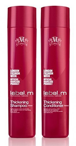 10. Label.m Thickening Shampoo & Conditioner Holiday Duo Set 10.1 oz