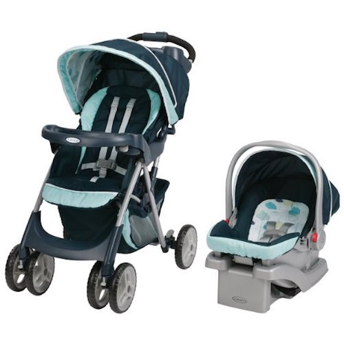 4. Graco Comfy Cruiser Click Connect Travel System, Stratus