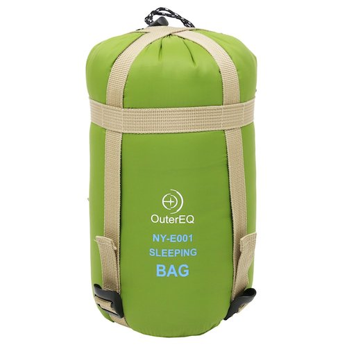 2. OuterEQ Camping Sleeping Bags Hiking Sleeping Bag