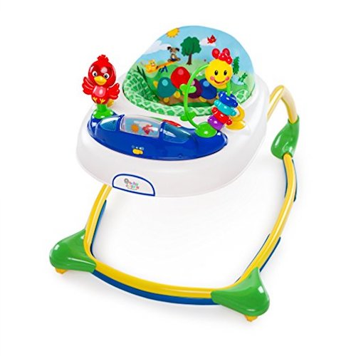 7. Baby Eistein Caterpilla And Friends Discovery Walker, Blue