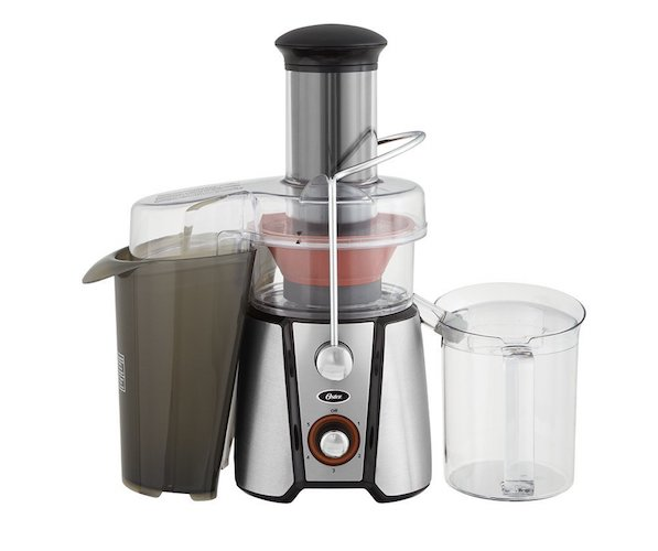 8. Oster JusSimple 5 speed easy clean juice extractor
