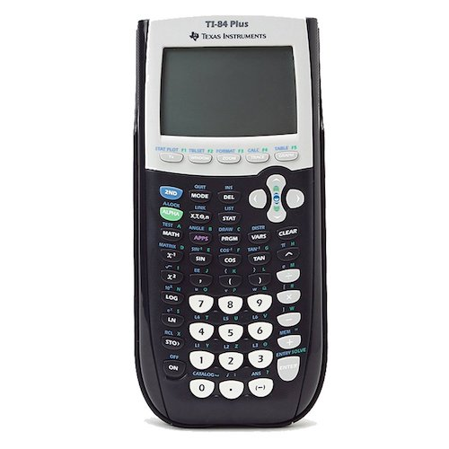 Best Algebra Calculators: Texas Instruments Ti-84 plus Graphing calculator - Black