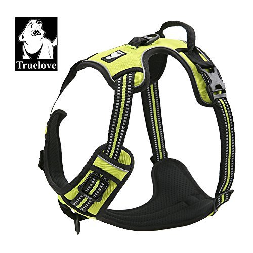 7. Best Front Range No-Pull Dog Harness. 3M Reflective Outdoor Adventure Pet Vest with Handle, 3 Stylish Colors and 5 Sizes.