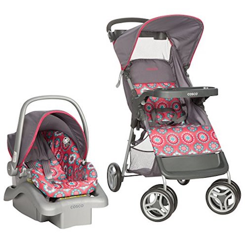 9. Cosco Lift & Stroll Travel System, Posey Pop