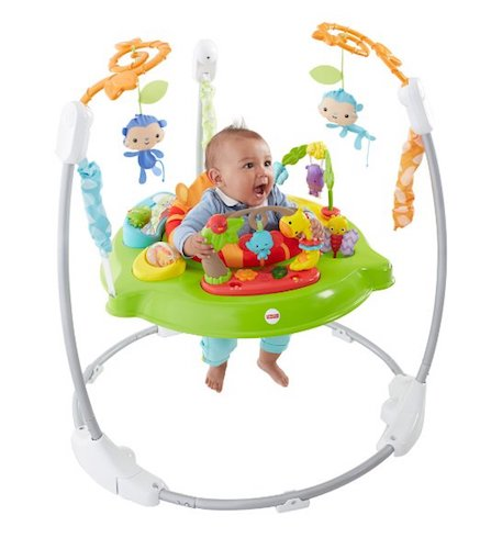 8. Fisher Price Roarin Rainforest Jumperoo